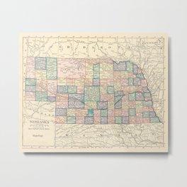 Nebraska Remembered Metal Print