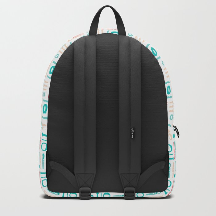 AFE Abstract  Pattern Backpack