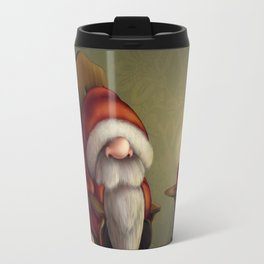 New edit: Little Santa in his rocking chair Travel Mug