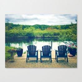 Cape Cod Summer View Canvas Print