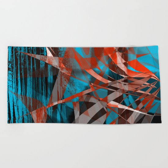 floating menance Beach Towel