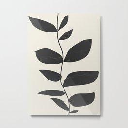 minimal plant Metal Print