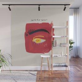 Saturn Eyes Wall Mural