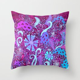 HALLUCINATURE Throw Pillow