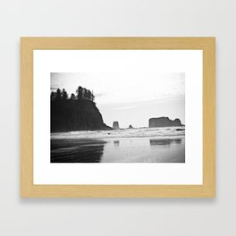 La Push Beach #2 - La Push, WA (4) Framed Art Print