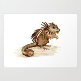 Mouse cichlid Art Print
