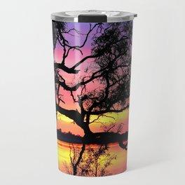Lake Bonney Sunset Travel Mug