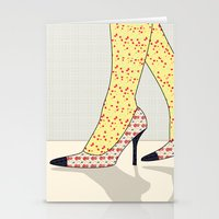 shoes Stationery Cards featuring Shoes by Ben Geiger