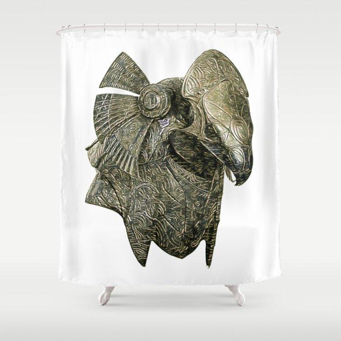 Stargate ra jaffa guard armour Shower Curtain