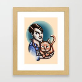 Poobah Framed Art Print
