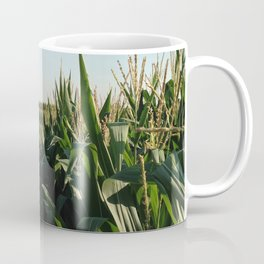Falling Into Line Coffee Mug