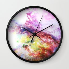 Eruption Wall Clock