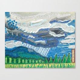 Rain in the Blueridge Canvas Print
