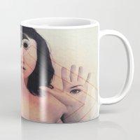 third eye Mugs featuring Third Eye by Isaak_Rodriguez