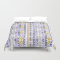 southwest Duvet Covers featuring Southwest by Kara Peters
