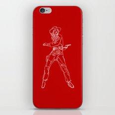 Crimson Cowgirl iPhone Skin