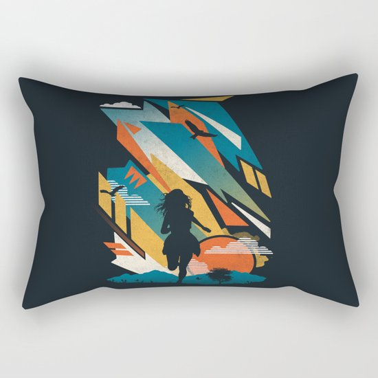 Horizons Rectangular Pillow
