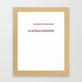 Biden 20 Vote for Joe for President Framed Art Print