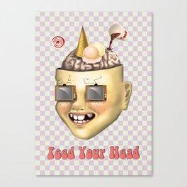 Pokerface Canvas Print