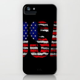 Distressed USA Flag iPhone Case