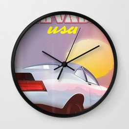 Nevada USA - '87 Wall Clock