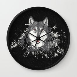 Raised By The Wolves Wall Clock