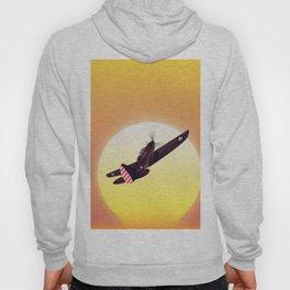 Vintage fighter plane Hoody