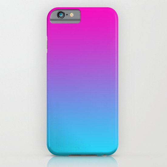 PINK & TEAL FADE iPhone & iPod Case