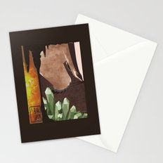 Original Bending Masters Series: Badgermoles Stationery Cards