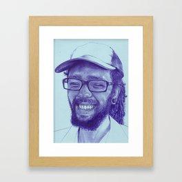 Kare-bear Framed Art Print