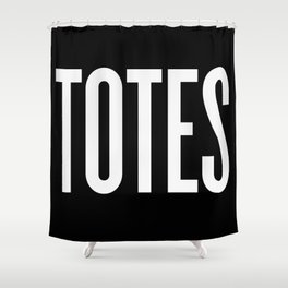 Totes Shower Curtain