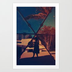 Mirrored Art Print