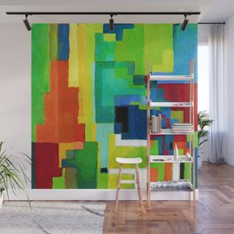 August Macke Colored Forms II Wall Mural