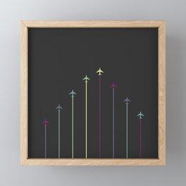Retro Airplanes 08 Framed Mini Art Print