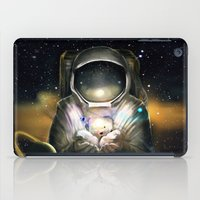 astronaut iPad Cases featuring Astronaut by J ō v
