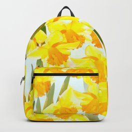 Spring Breeze With Yellow Flowers #decor #society6 #buyart Backpack