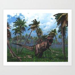 Tyrannosaurus 3 Art Print