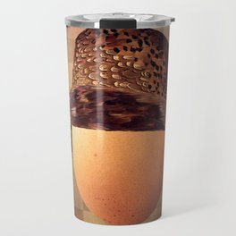 Vintage Egg in Fine Pheasant Cloche Travel Mug