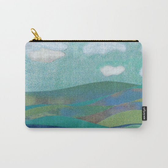 COLLAGE LOVE: Seascape Carry-All Pouch