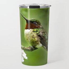 Hummingbird Flora Travel Mug