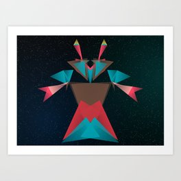 Opera Crab Art Print