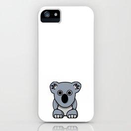 Cute Kuala iPhone Case