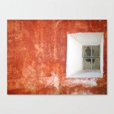 Street Lamp (Orange) Canvas Print