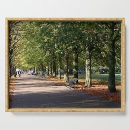 Avenue of Trees at Greenwich Park Serving Tray