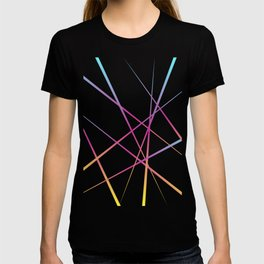 Laser Light Show - Pink T-shirt