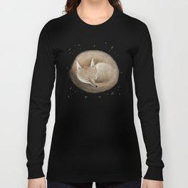 Swift Fox Sleeping Long Sleeve T-shirt