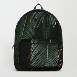 Detail of texture palm leaves - Fine art tropical jungle photography  Backpack
