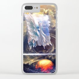 Force Fields Clear iPhone Case