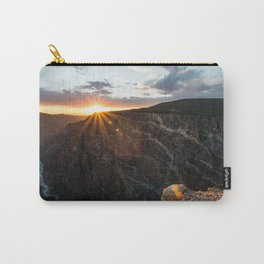 Sunset at Black Canyon Carry-All Pouch