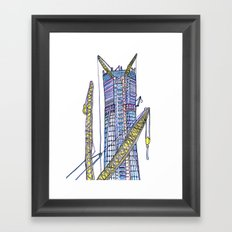 Love NYC's everything No. 6 Framed Art Print